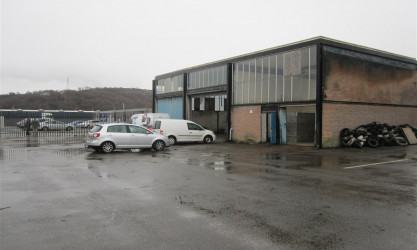 Llandarcy - Industrial Unit with Yard, NEATH